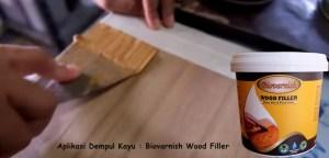 wood filler Biovarnish