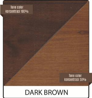 biovarnish wood stain warna dark brown
