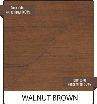 varnish kayu biovarnish warna walnut brown