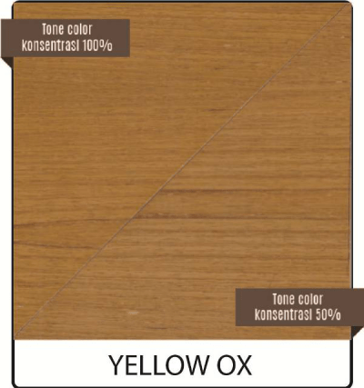 pernis kayu biovarnish warna yellow oxide