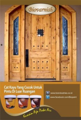 finishing kayu dengan cat water based