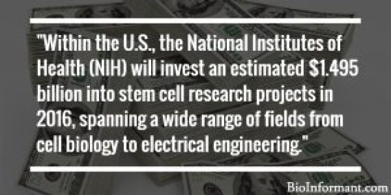 Funding for Stem Cell Products