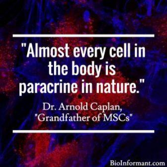 FDA Regulation of Stem Cells - Paracrine Nature