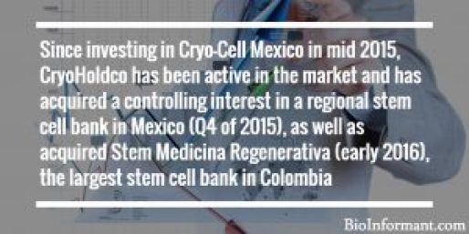 CryoHoldco's Expansion in Latin America