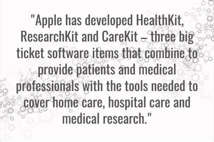 Apple - HealthKit, ResearchKit and CareKit