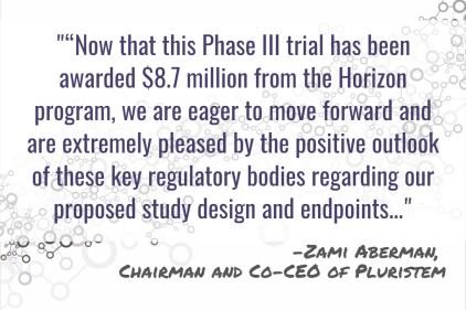 Pluristem Prepares for Phase III Trial of PLX-PAD