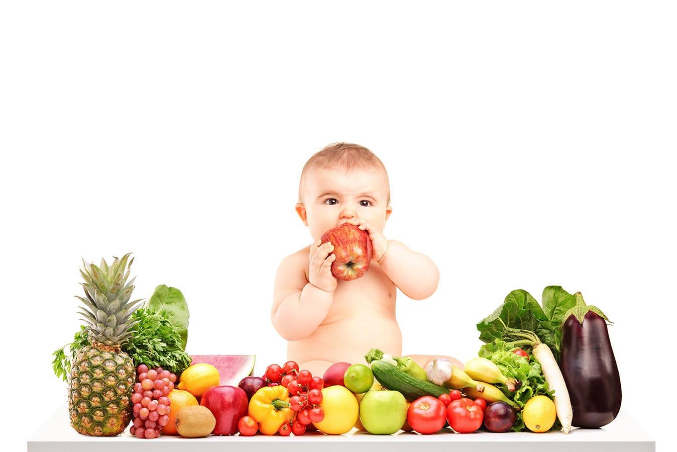Initier Bébé Au Pot le bio est-il préférable pour votre bébé - biolanges.fr