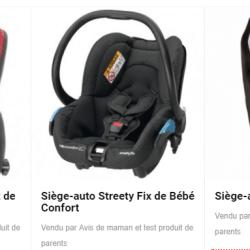 Le siège auto : comment choisir celui qui convient à son bébé ?