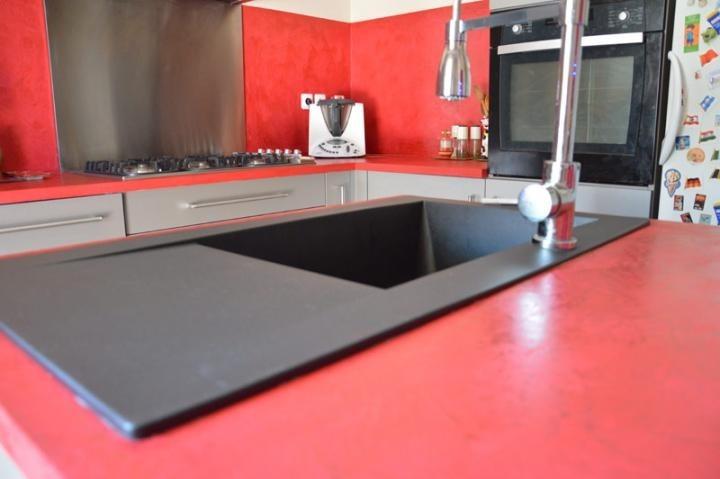 credence en beton cire pour la cuisine