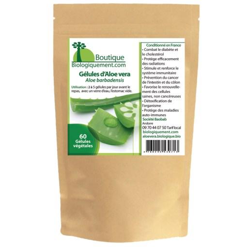 L'aloe vera plante gel traitement anti-cancer naturel traitement des ulcères