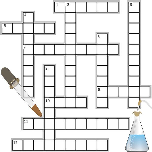 Scientific Processes Crossword Puzzle