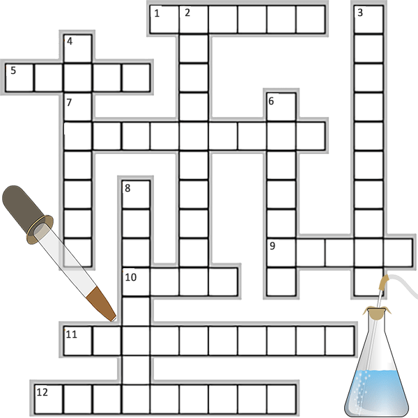 Scientific Processes Crossword Puzzle