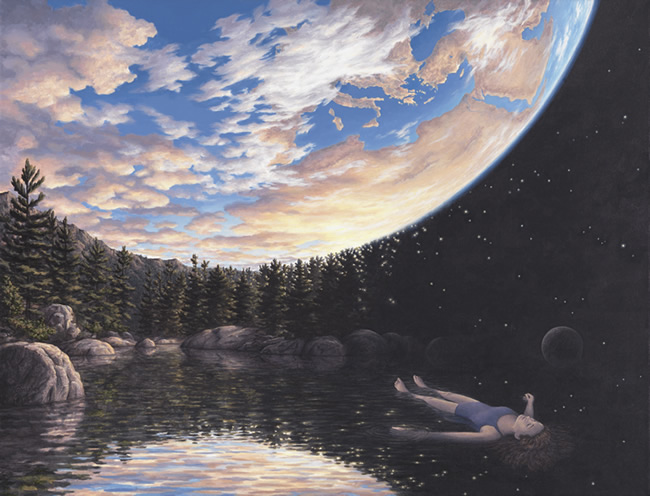 "Rob Gonsalves, ""The Phenomenon of Floating"""