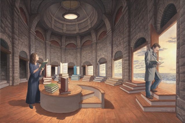 "Rob Gonsalves, ""Space Between the Words"""