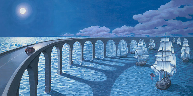 "Rob Gonsalves, ""Toward the Horizon"""