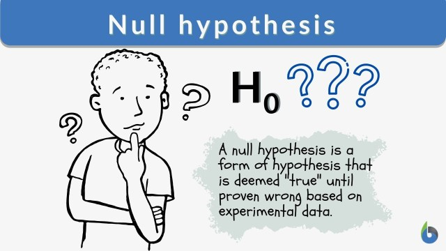 Null hypothesis - Definition and Examples - Biology Online Dictionary