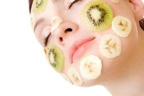 Frutas sobre la piel