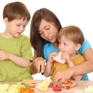 Alimentación saludable para niños y adolescentes obesos
