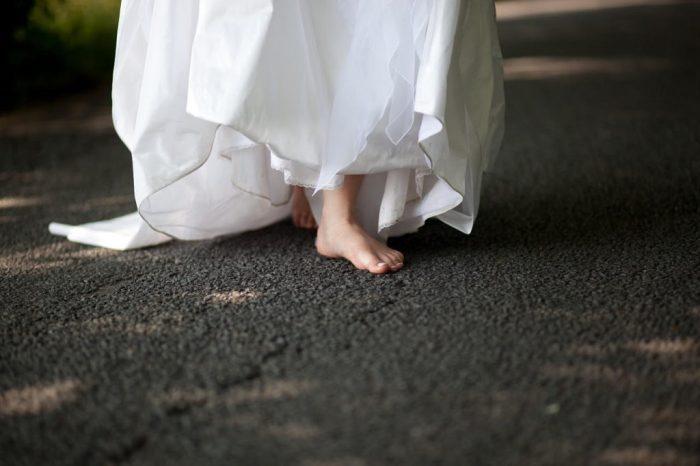 vestito da sposa matrimonio ecosostenibile