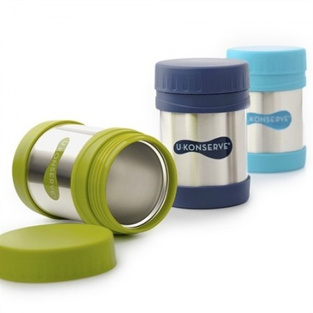 U Konserve 350ml stainless steel thermos - green
