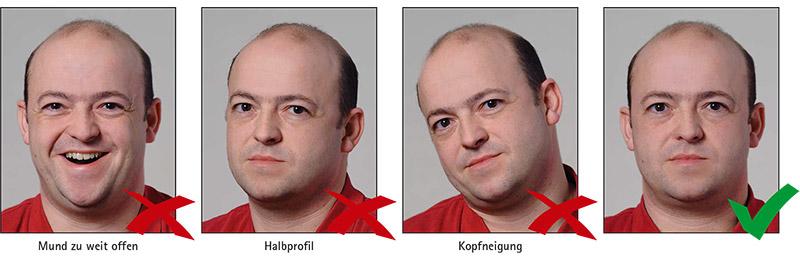Biometrisches Passbild Net Passfoto Generator & Vorgaben