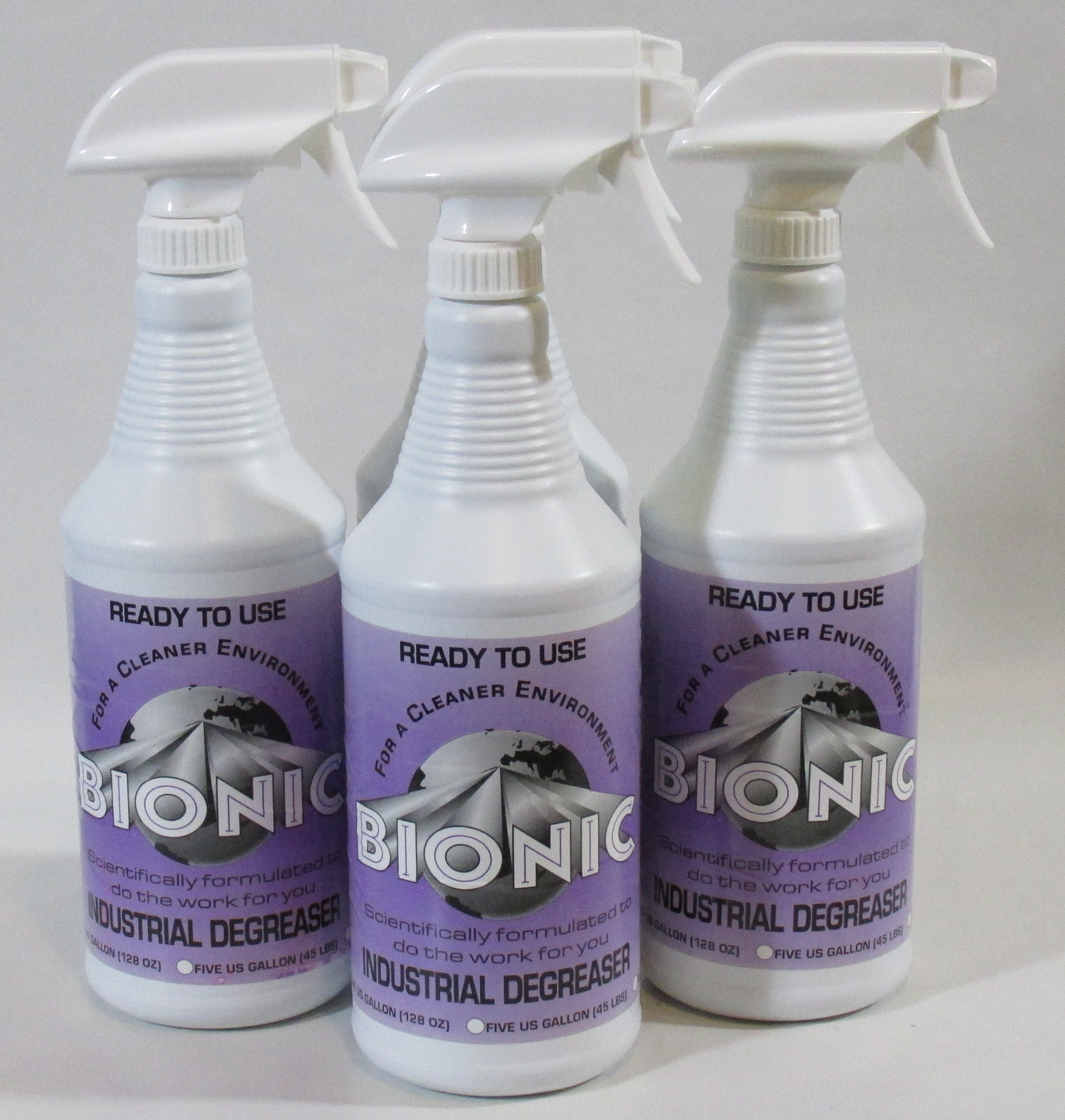 commercial degreaser for kitchen faucets kohler industrial quart 4 pack bionic clean