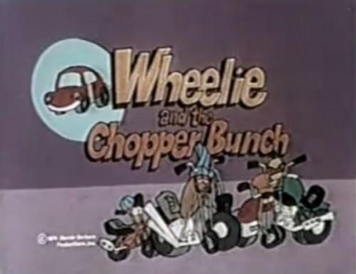 S Choppy Barbera 1970 Motorcycle Cartoon Hanna