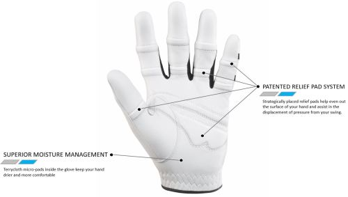 small resolution of palm of golf glove