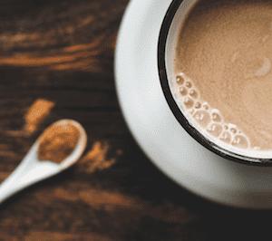 kakao, karob, czekolada do picia