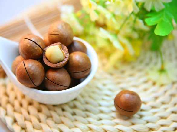 M like… Macadamia Nuts!