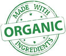 Image result for made with organic ingredients logo
