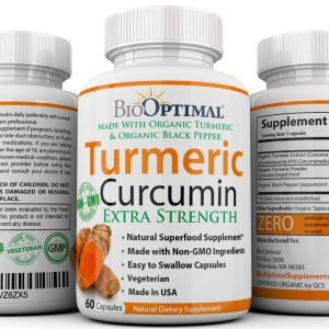 BioOptimal Organic Turmeric Supplement