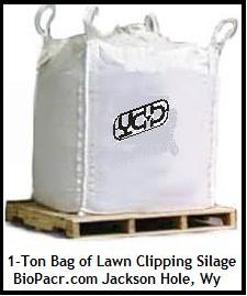 Lawn Clipping Silage_1 Ton Bag_Biopacr.com_