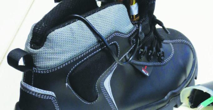 Chaussure de sécurité intelligente