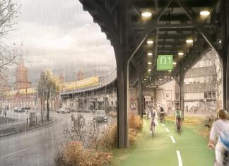 Pedalare al coperto: nasce la pista ciclabile sotto i binari della metro