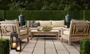 Tips Memilih furniture eksterior untuk Taman