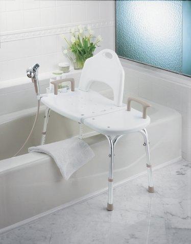 Moen Transfer Bench  ADA Shower Chair  BioRelief