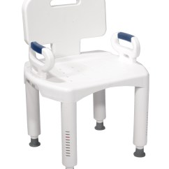 Carex Shower Chair For Sit Stand Desk Drive Medical Bathroom Safety Biorelief