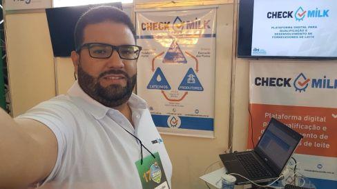 Matheus H.M. Silva - coordenador técnico do CheckMilk
