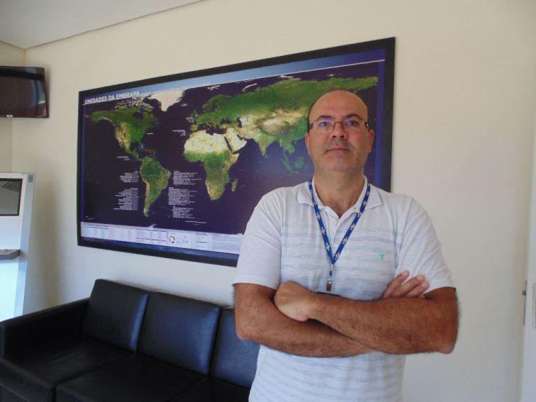 Supervisor do Setor de Gestão da Transferência de Tecnologia da Embrapa Pecuária Sudeste: José Alberto Bastos Portugal