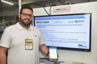 Matheus Silva, da Check Milk, ferramenta de monitoramento da qualidade do leite. Foto: Marco Polo Veras