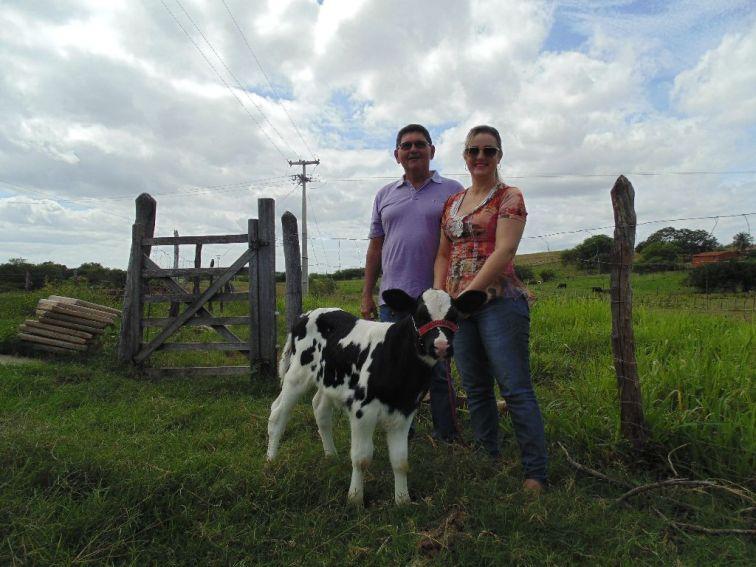 O casal investiu no leite para reduzir custos na fábrica de pizza. Fotos: Regina Groenendal