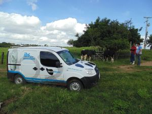 O sítio passou a ser lucrativo com a pecuária leiteira a partir do IBS