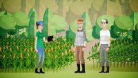 Imagem do primeiro vídeo da série sobre agricultura regenerativa