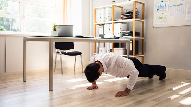 11 Creative Ways To Incorporate Exercise Into Your Workday