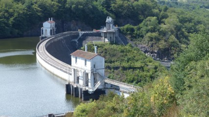 Eguzon Hydroelectric Dam. © J-P/Flickr