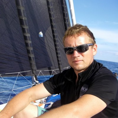 Andy Mieklejohn – Professional Sailor