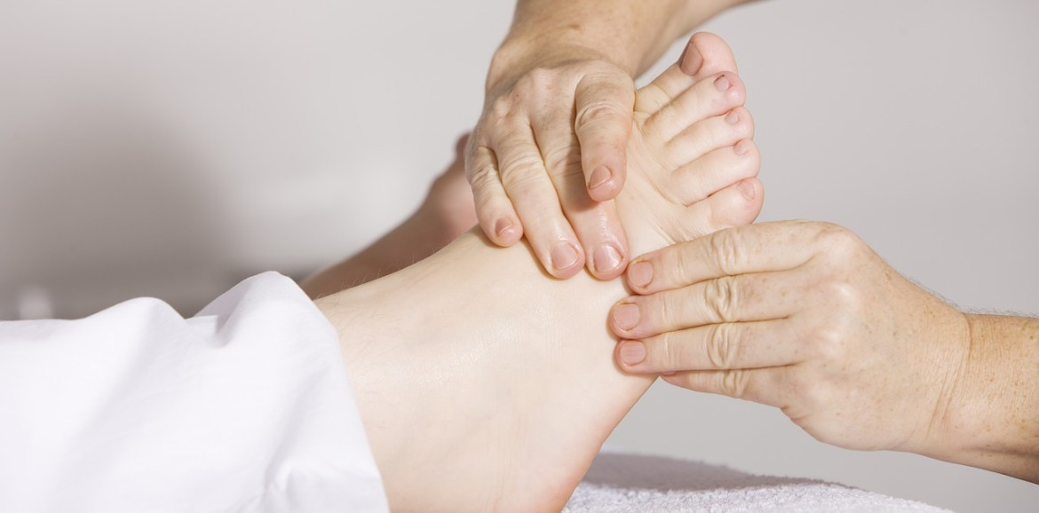Mobilising the feet to help get better flexibility and agility
