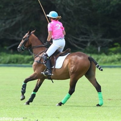 Polo player and property developer Sara talks of online training