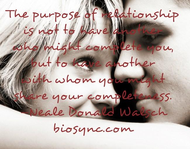 Purpose of Relationship